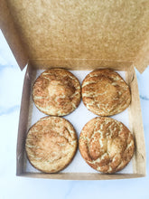 Load image into Gallery viewer, Box of Four Snickerdoodle Cookies