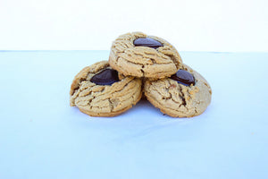 Box of Four Peanut Butter Cookies
