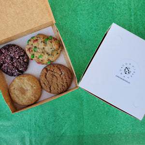 Box of Four Holiday Cookies