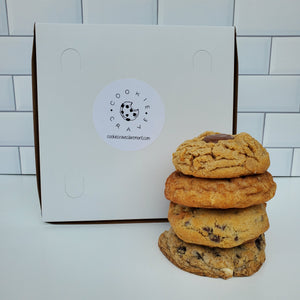 Four Cookies Sampler Box