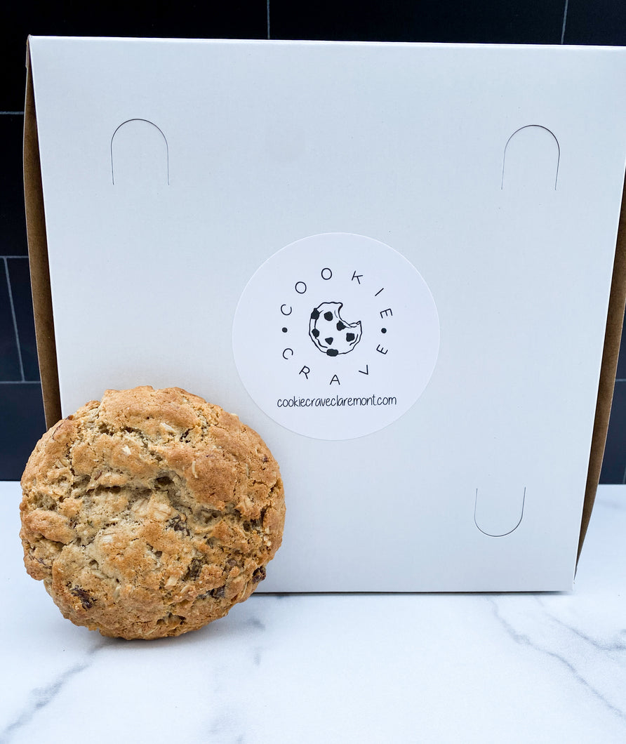 Box of Four Oatmeal Raisin Cookies