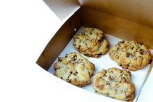 Load image into Gallery viewer, Box of Four Chocolate Chip Cookies
