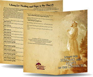 Litany for Healing and Hope in the Church Prayer Card