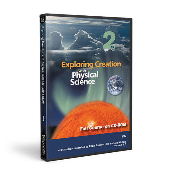 Physical Science 2nd Edition Full Course CD-Rom