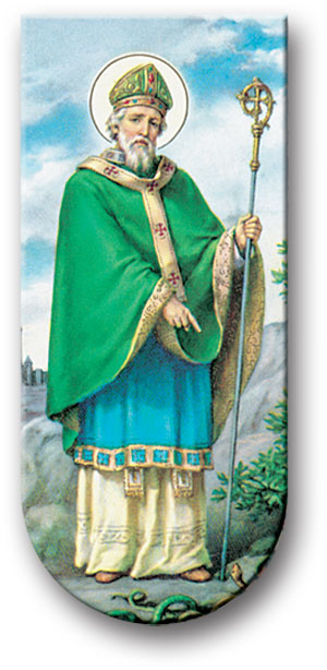 Hail Glorious St. Patrick Magnetic Bookmark