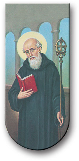 Prayer to St. Benedict Magnetic Bookmark
