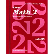 Saxon Math 2 Home Study Meeting Book: Grade 2