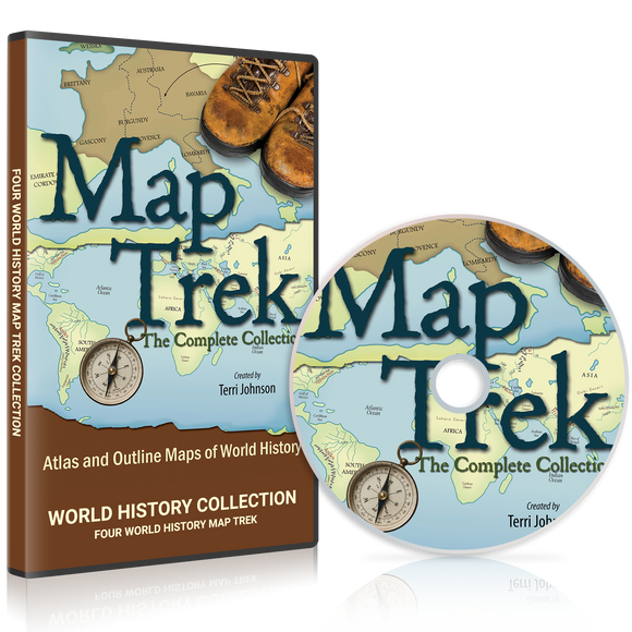 Map Trek: World History CD Only