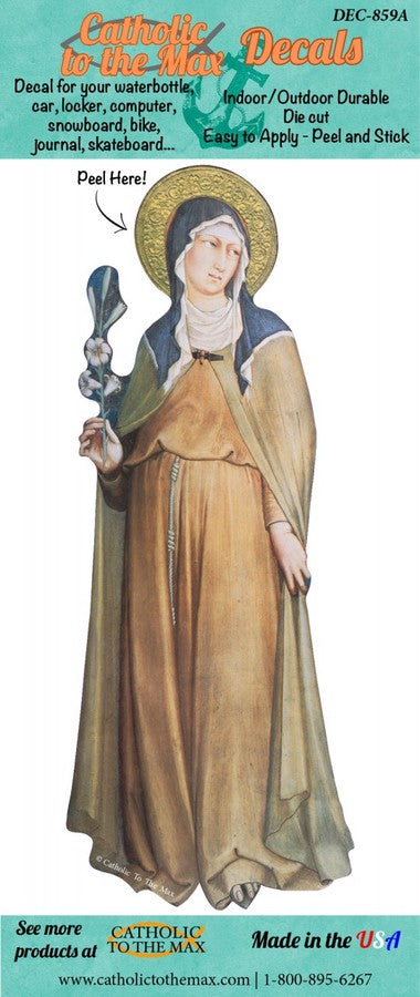 St. Clare Decal