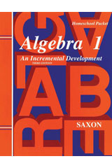Saxon Algebra 1 Solutions Manual: Grades 8 - 12