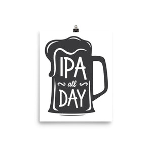 'IPA All Day' Print