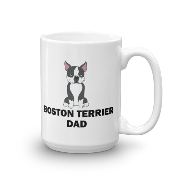 Boston Terrier Dad - Mug