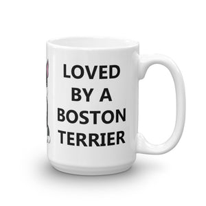 Loved By a Boston Terrier - Mug