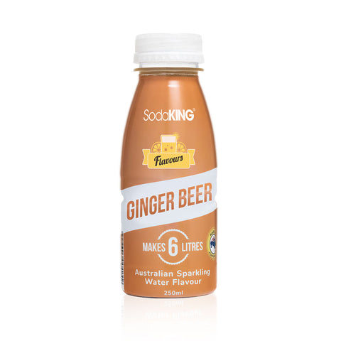 SodaKING Ginger Beer Sparkling Water Flavour