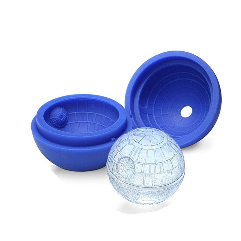 Death Star Ice Ball Silicone Mold
