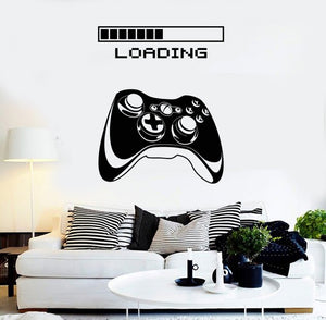 Gaming Vinyl Wall Decal