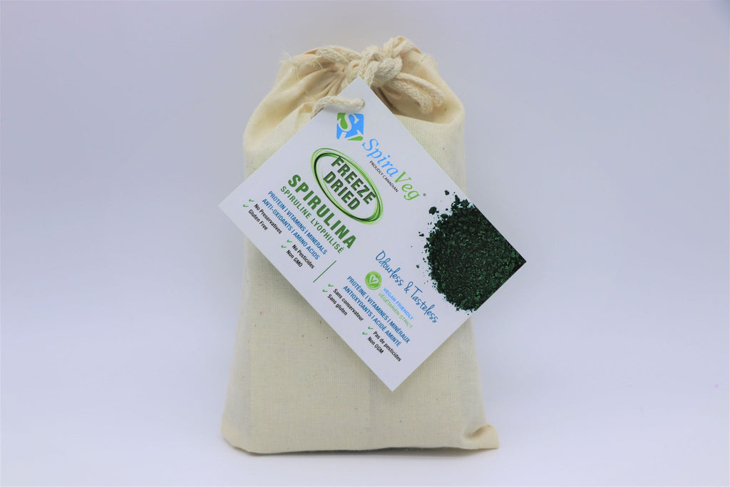 Freeze Dried Spirulina, bag
