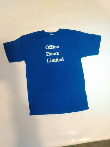 OH LTD tee - blue