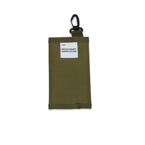 tactical wallet - green