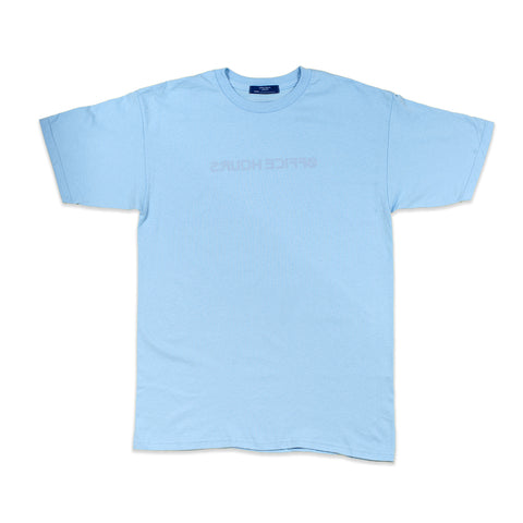 courier tee - blue