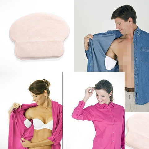 Disposable Sweat Pads For Underarms -  100pcs (50 Pairs)