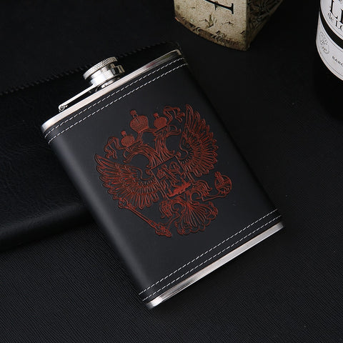 Luxury Hip Flasks CCCP Engraving