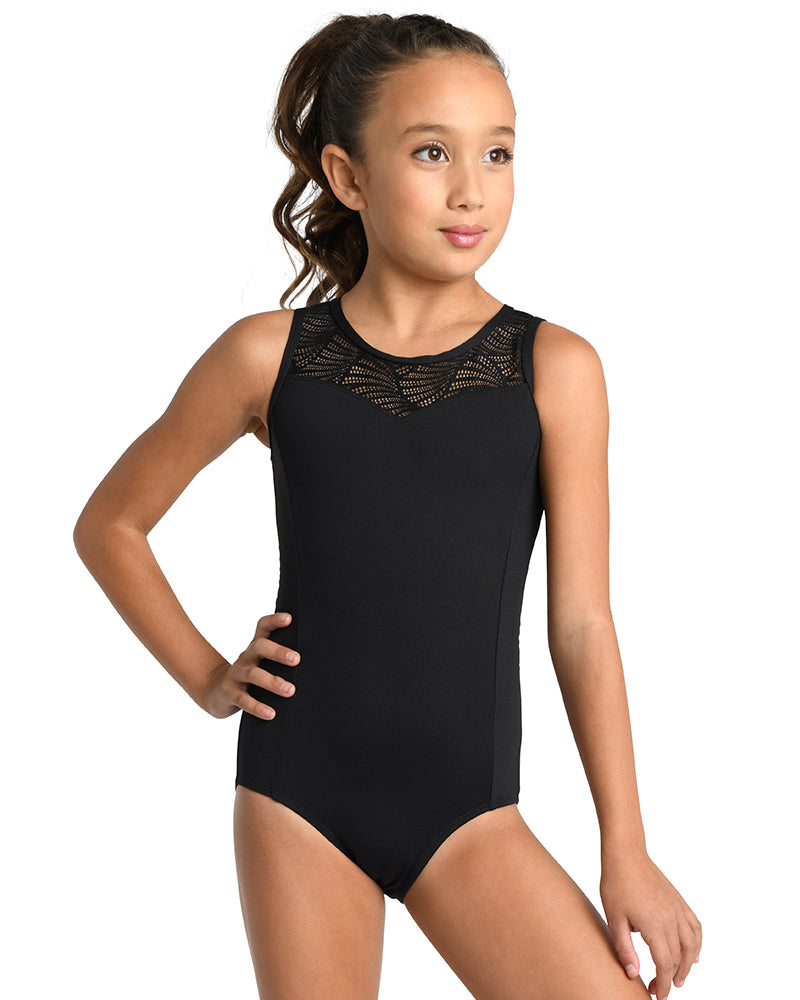 girls lace leotard