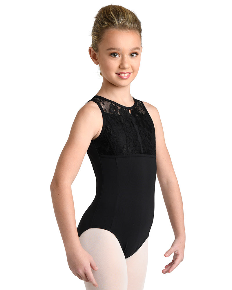 Elegant Black Leotard