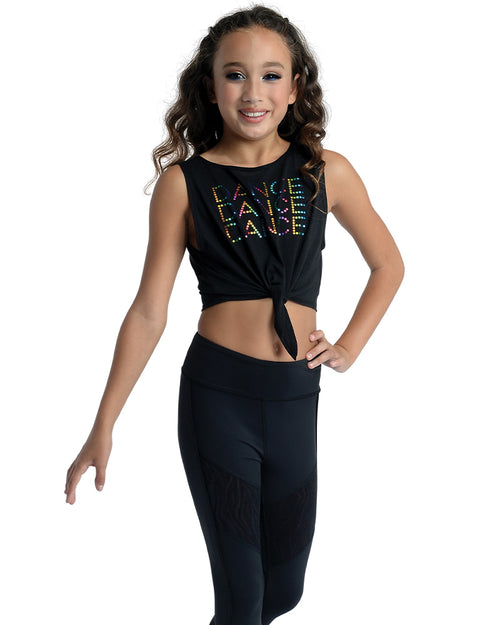 Dance Sequin Crop Top
