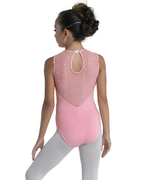 Diamond Sequin Leotard - Girls