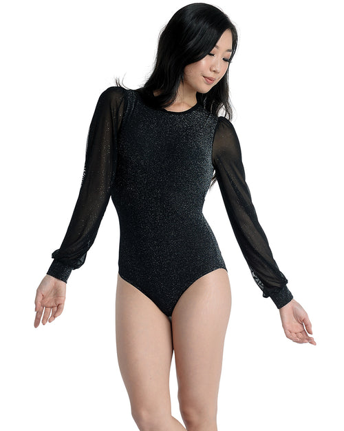 Sparkle Long Sleeve Leotard