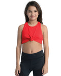 Girls Red Dance Top
