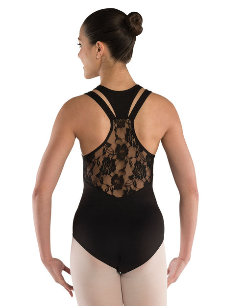 Lacer Back Leotard - Girls