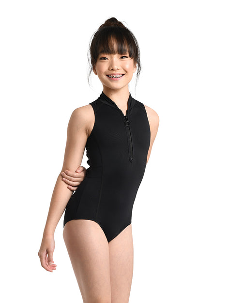 Zip Front Leotard