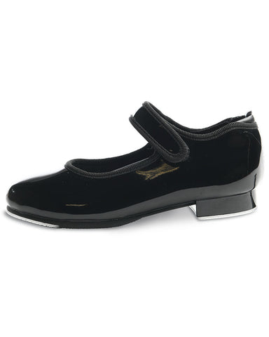 Velcro Kids Tap Shoe In Black