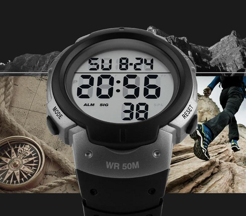 Digital Men Watches
