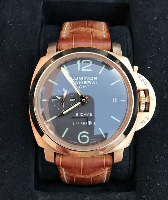 Panerai Luminor 1950 8 Days Historic PAM00289 – 18k Rose Gold