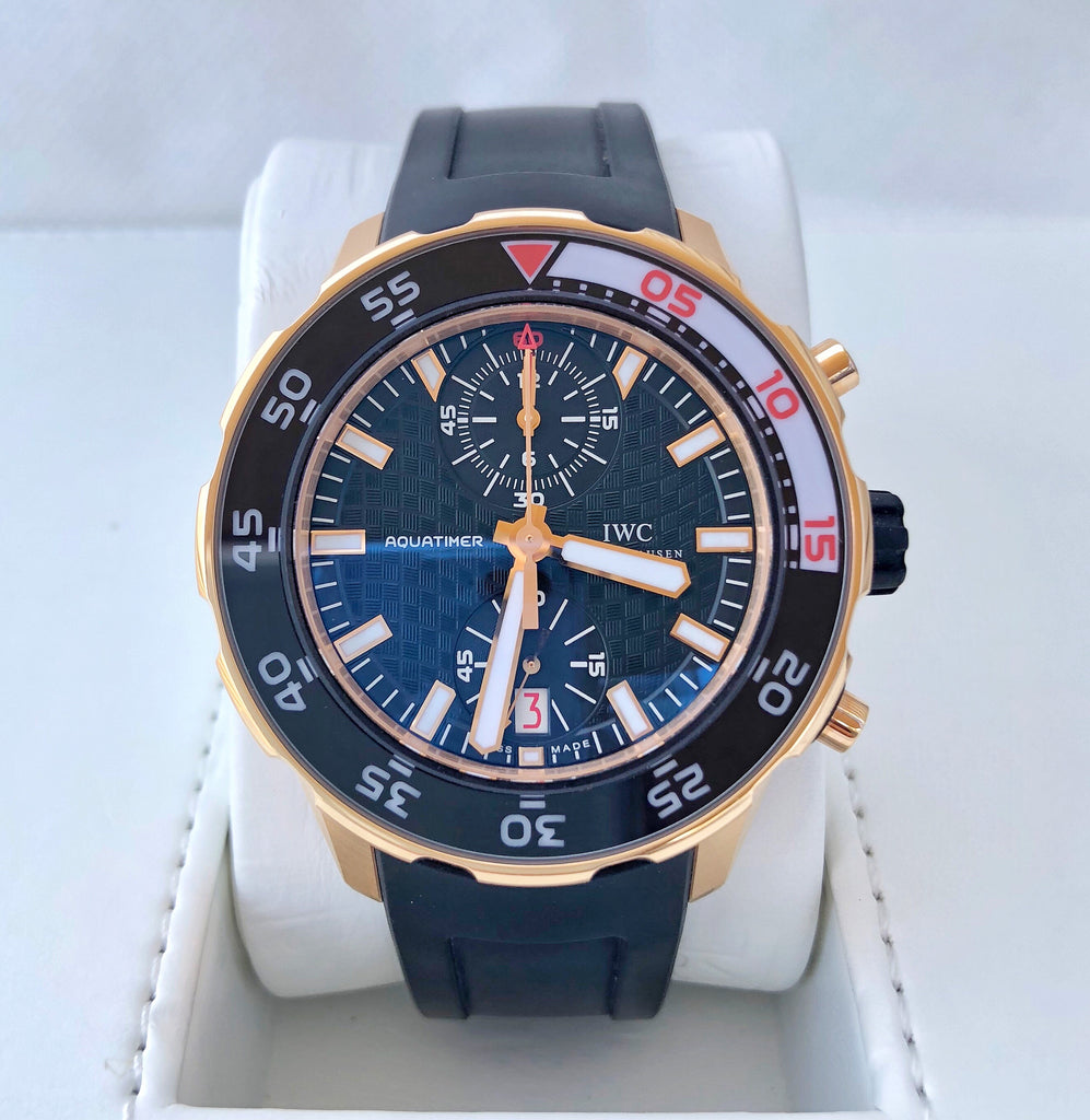 IWC Aquatimer Rose Gold Chronograph IW376905