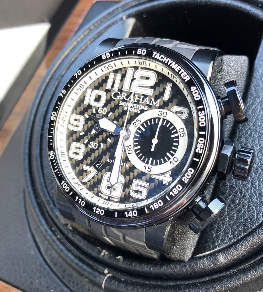 Graham Silverstone Stowe Racing Carbon Chronograph