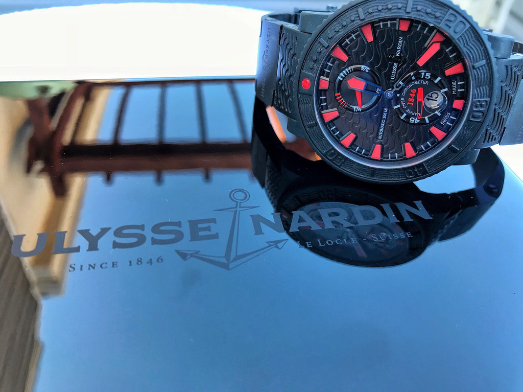 Ulysse Nardin Limited Edition 'Black Sea' 263-92-3C