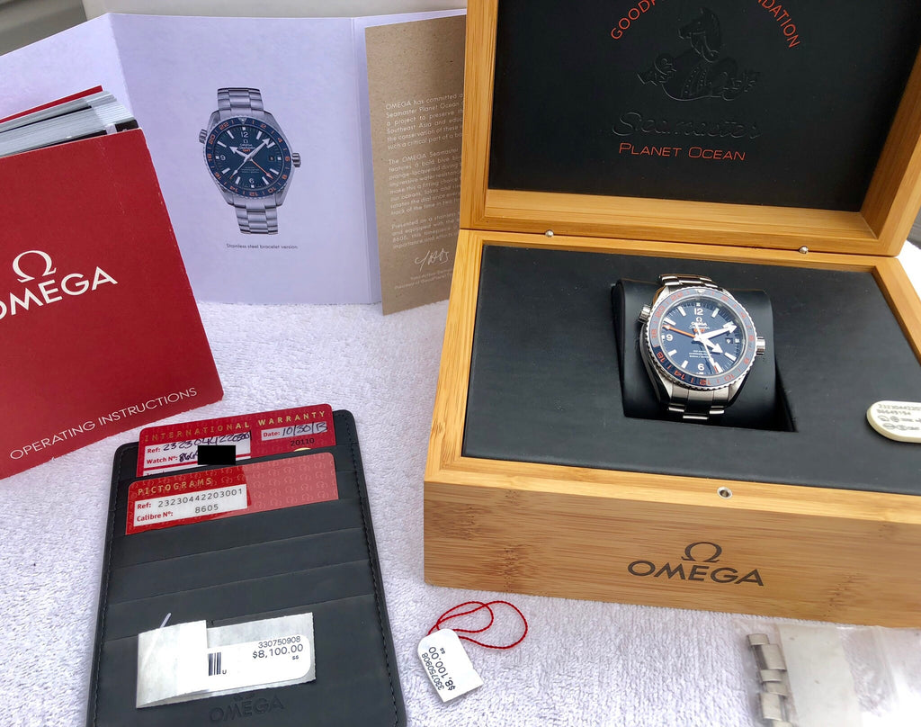 Omega Seamaster Planet Ocean GMT Good Planet