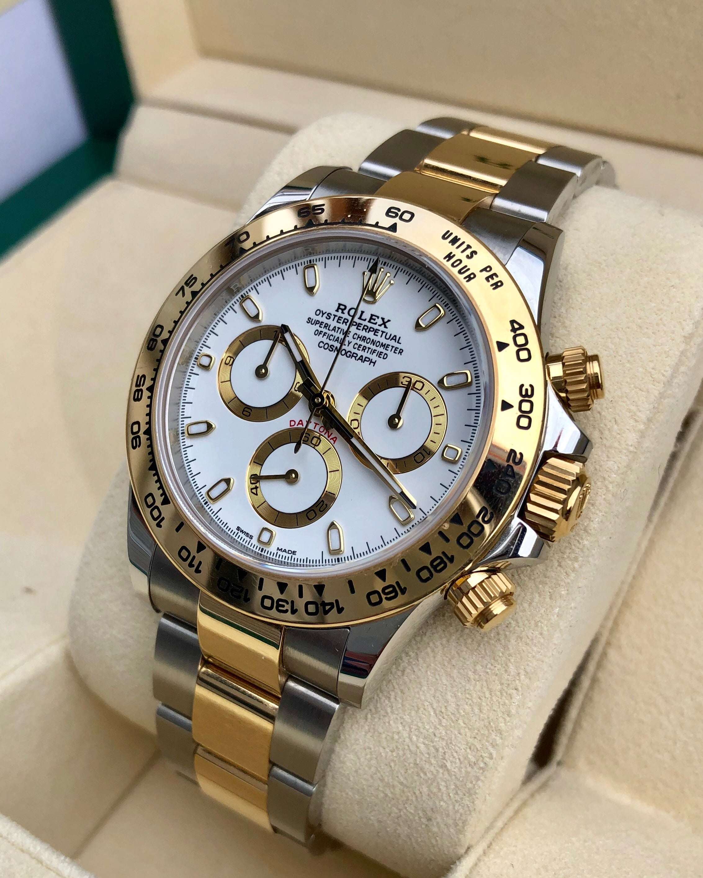 3a1f1a5f389 Rolex Daytona Cosmograph 116503 Two-Tone Gold Steel - Knight Watch ...