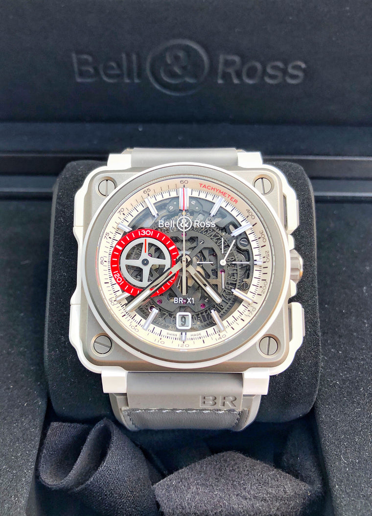 Bell & Ross BRX1-WHC-TI White Hawk Skeletonized Chronograph