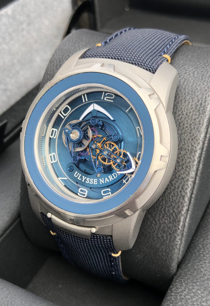 Ulysse Nardin Freak Out Blue Dial Titanium 2053-132/03