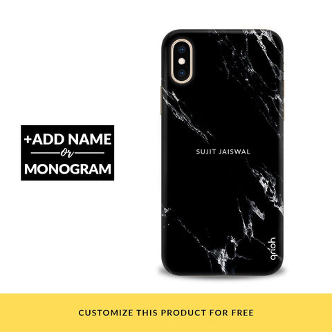 Charcoal Boulder Customized Phone Cover
