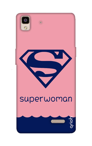 Be a Superwoman Oppo R7 Cases & Covers Online