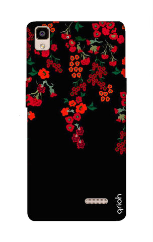 Floral Deco Oppo R7 Cases & Covers Online