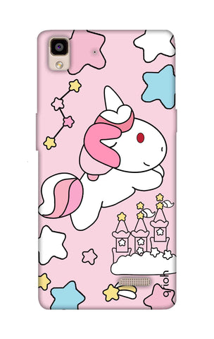 Unicorn Doodle Oppo R7 Cases & Covers Online