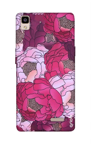 Vector Floral Oppo R7 Cases & Covers Online