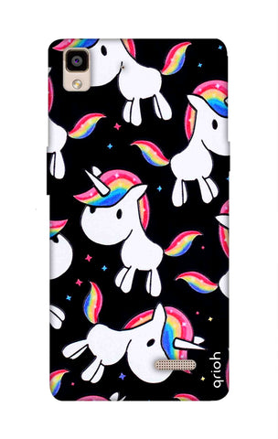 Colourful Unicorn Oppo R7 Cases & Covers Online